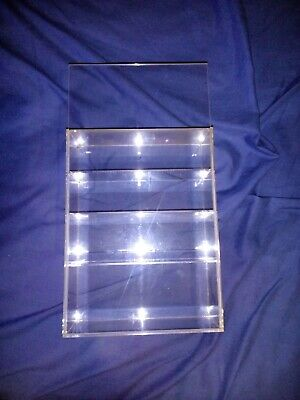 4 Layer Clear Acrylic Display Case.  • 18£
