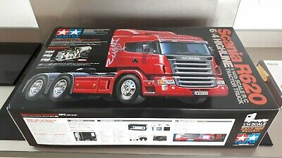 Tamiya SCANIA R620 Highline 6x4, MFC-03, Battery, Charger, Handset & More £1000+ • 560£