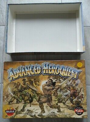 Advanced HEROQUEST Games Workshop Role Play Board Game. 14+ • 51£