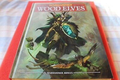 Games Workshop Warhammer Wood Elves Elf Army Book Fantasy Hardback 8th Edition  • 74.99£