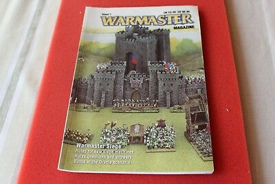 Games Workshop Warmaster Magazine Issue 1 Very Good Condition 15mm Game Book OOP • 19.99£