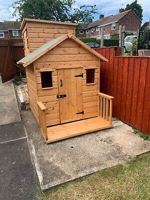 Childrens Wooden Play House/Wendy House 5' X 4' X 5ft High - CAN DELIVER • 299.99£