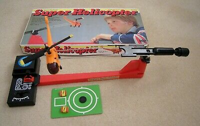 Vintage Rare 1979 Made In Japan Epoch Playthings Super Helicopter Complete • 49.95£