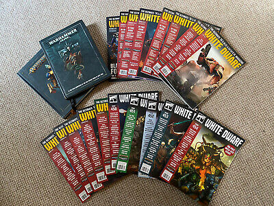Games Workshop - White Dwarf Magazines And Rule Books (Sigmar & 8th Edition 40k) • 30£