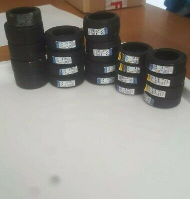 12 Diecast Tyres 1/18 For Garage Diorama Or Your Own Wheels Which Require Tyres • 8£