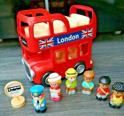 ELC London Bus With 6 Figures • 14.99£