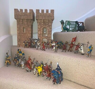 Schleich Knights Collection - 27 Knights + 2 Dragons • 4.95£