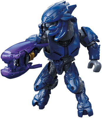 Mega Construx Halo Clash On The Ring Series, ELITE MINOR BLUE. New Sealed • 7.95£