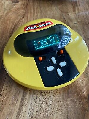 GRANDSTAND MUNCHMAN  80's ELECTRONIC GAME • 16.82£