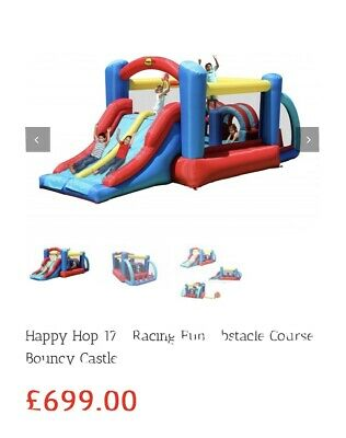 Obstacle Bouncy Castle Happy Hop  • 300£