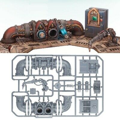 --- Sector Mechanicus SACRISTAN FORGESHRINE CONTROL --- Console Battery Bits 40k • 14.99£