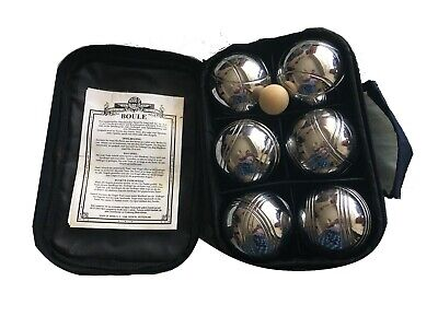 House Of Marbles Metal Boules Set With Wooden Jack & Case • 9.95£