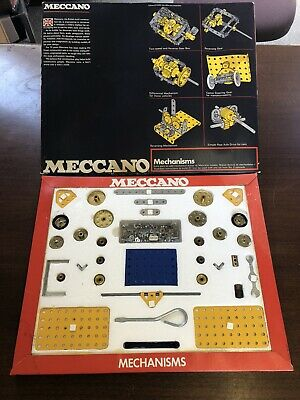 Vintage Meccano Mechanisms Set, 1971, Complete In Original Box • 125£