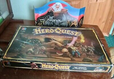Vintage Heroquest Role Playing Game By Mb Games • 45£
