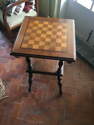 Wooden Chess Table Vintage  • 109£