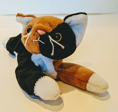 Vintage Ty The Pillow Pals Collection Chip The Calico Cat Beanie Buddy Retired • 5.99£