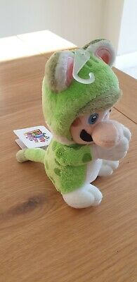 Nintendo Stuffed Toy Luigi Cat Handmagnet (Approx. 19cm) • 25£