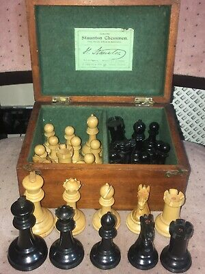 Antique Jaques London / Staunton Chess Set • 750£