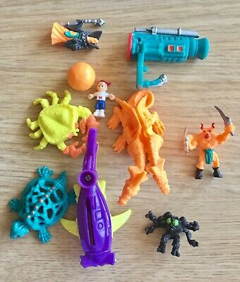 Vintage Bluebird Mighty Max Trapped In Skull Mountain Bundle Figures Accessories • 5£
