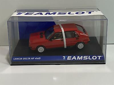 Teamslot 12901 Lancia Delta HF 4WD Red Road Car 1:32 New Boxed • 50.99£