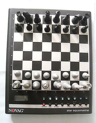Ideal Gift Amazing  Star Aquamarine Electronic Chess Computer By Novag • 99.99£