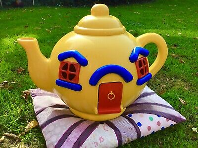 Vintage 1981 The Big Yellow Teapot Playhouse Toy By Bluebird Toys • 20£
