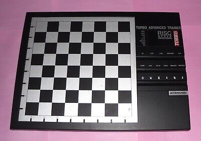 Ideal Gift Electronic Turbo Advanced Trainer Chess Computer By Saitek Kasparov • 59.99£