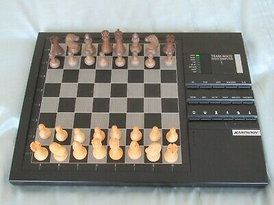 Kasparov Team Mate Advanced Trainer Chess Computer - In Working Condition No Box • 24.50£