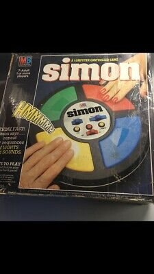 Vintage Retro MB Simon Game - Boxed And Working • 35£