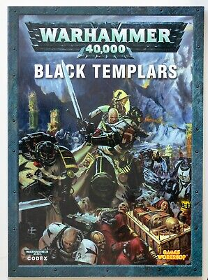 Warhammer 40,000 Codex: Black Templars (2005) • 3.20£