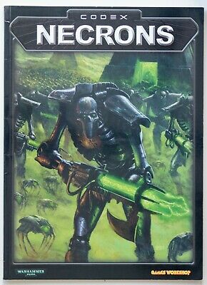 Warhammer 40,000 Codex: Necrons (2002) • 2£