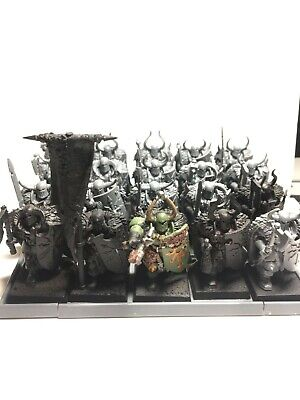 Warhammer Age Of Sigmar Chaos Warriors With Nurgle/Decay Effects • 5.50£