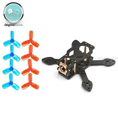 Toad 90mm 2  Small Mini Quadcopter Frame Kit + Propellers - FPV Drone Whoop • 16.95£