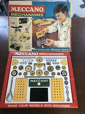 Vintage Meccano Mechanisms Set , 1967, Guaranteed Complete In Original Box • 110£