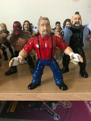 Chainsaw Charlie Custom WWF WWE Hasbro Retro Mattel Series Wrestling Figure • 50£
