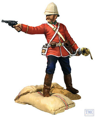 B20190 W.Britain Getting A Little Close! 24th Foot Officer LE 450 Sets Zulu • 41.70£