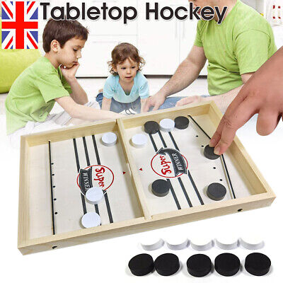 Family Games Table Hockey Game Catapult Chess Parent-child Interactive Toys UK  • 17.07£