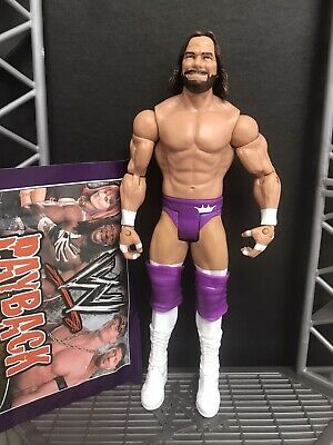 Macho Man Randy Savage WWE Wrestling Figure Mattel Basic Series 76 King + Cards • 7.99£