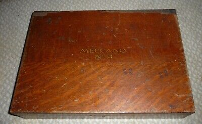 Oak Cased Pre War Meccano No.5 Construction Set  • 275£