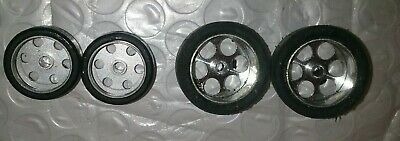 Nsr Front/rear Alloy Grub Screw 1/32  Wheels/tyres 2.38 Axle With Screws. Used. • 9.99£