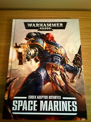 Codex: Space Marines, Warhammer 40k, 7th Edition, Hardback (2015). • 5£