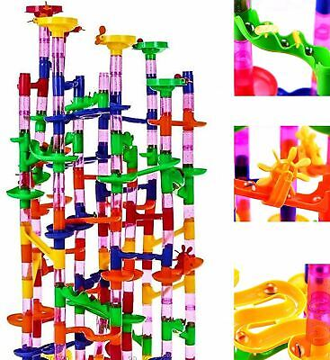 219 Pcs Marble Run Race Set Construction Building Blocks Toy Game Track Kid Maze • 15.93£