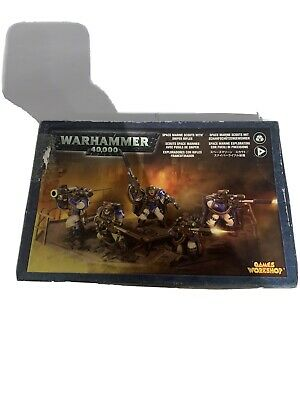 Warhammer 40k Space Marine Scouts With Sniper Rifles • 10£