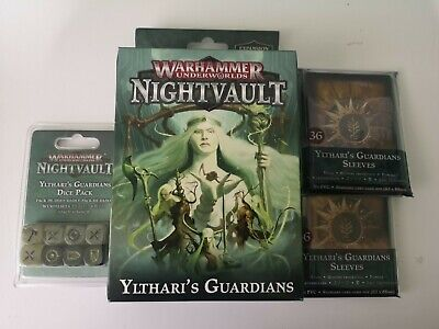 Nightvault Ylthari's Guardians Plus Oop Dice And Sleeves X 2 • 6.41£