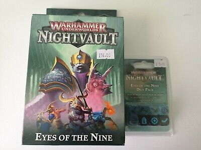 Eyes Of The Nine Nightvault Warhammer Underworlds Plus Dice • 6.41£