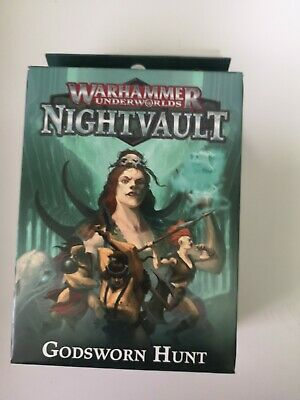 Warhammer Underworlds Night Vault Godsworn Hunt • 3£