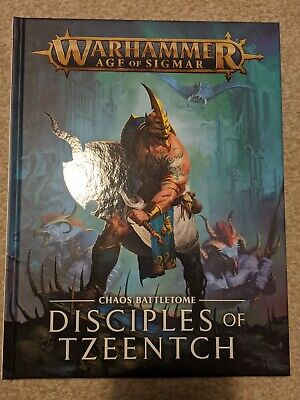 Warhammer Age Of Sigmar Chaos Battletome Disciples Of Tzeentch Hardback  • 20£