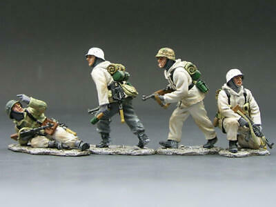 King & Country Battle Of The Bulge  Crossing The Road  Bbg06 Boxed • 149.99£