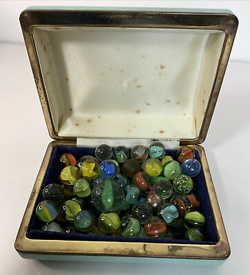 Vintage Glass Marbles Bundle Form A House Clearance 2 • 13.99£