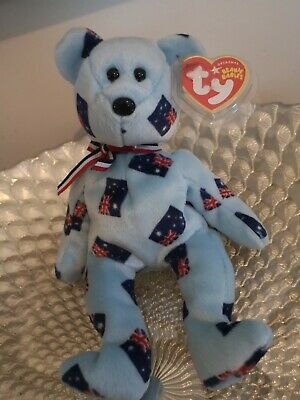 Ty Beanie Babies Very Rare Starry Asia Pacific Bear • 13.95£